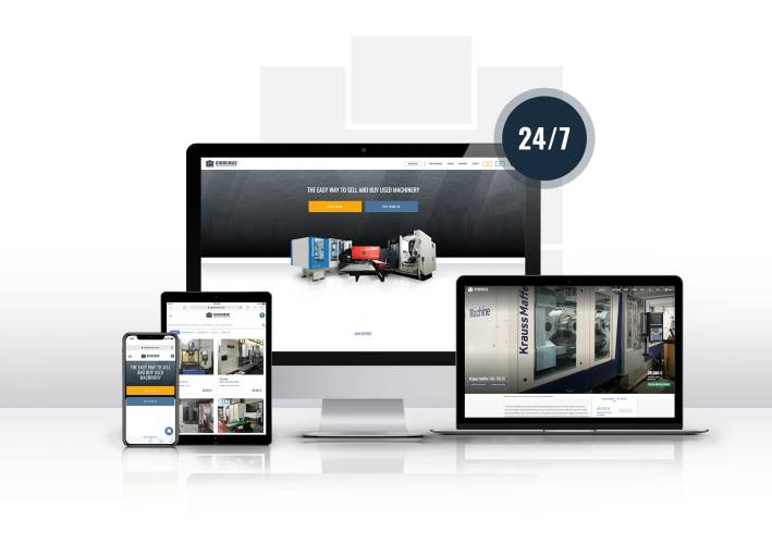Online-Plattform www.gindumac.at: Mit wenigen Klicks Gebrauchtmaschinen kaufen und verkaufen.