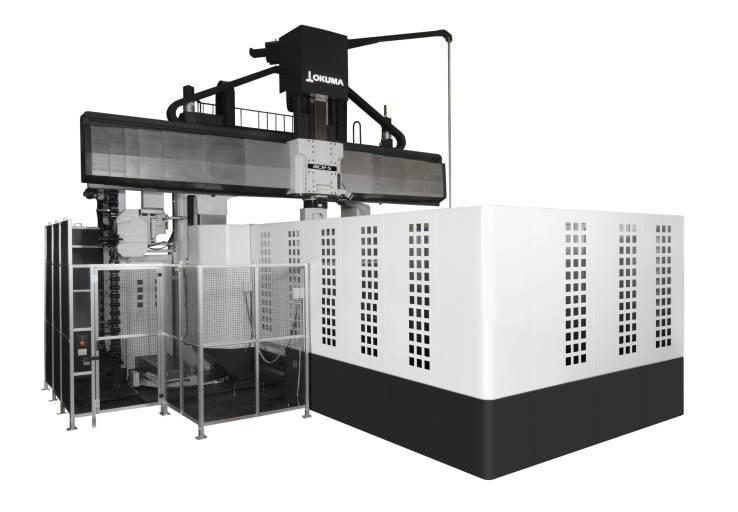 Portalfräsmaschinen wie die neue MCR-S werden im Formen- und Werkzeugbau zur Fertigung großer Werkstücke verwendet.
