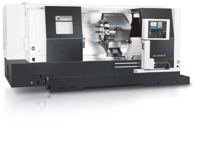 Horizontal-Drehmaschine GS-4000L: Die langjährige Produktionserfahrung von Goodway gewährleistet einen hohen Fertigungs- und Qualitätsstandard.
