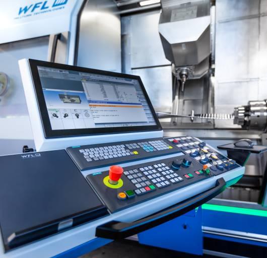 Der Komplettbearbeitugnsspezialist WFL bietet mit dem brandneuen iControl erhöhte Prozesssicherheit durch kontinuierliche Überwachung der Bearbeitungsvorgänge.