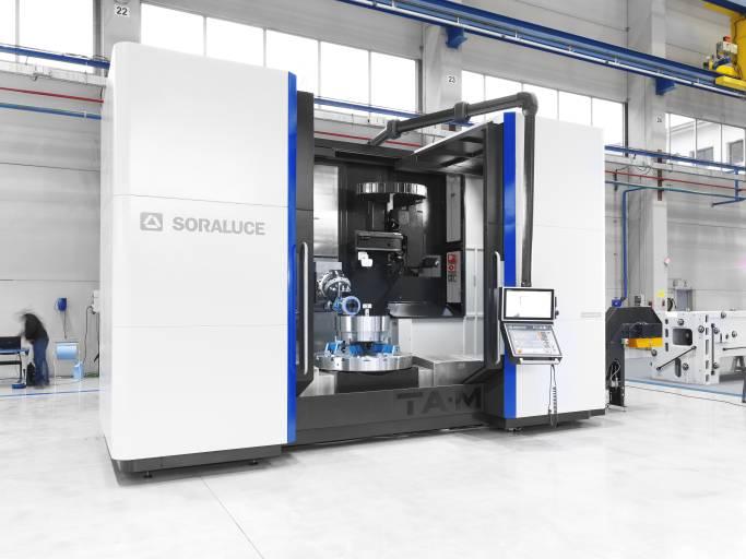 Zur EMO hat Soraluce das Konzept der intelligenten Maschine zur intelligenten MaschinePlus weiterentwickelt.