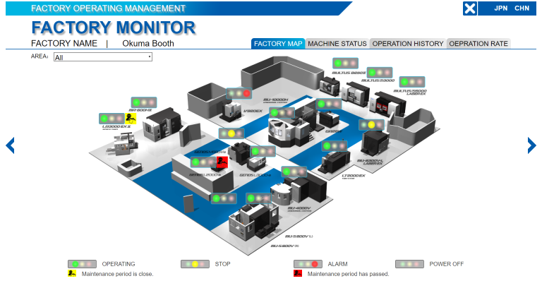 Connect Plan erlaubt eine vollständige Visualisierung der gesamten Produktionsumgebung.