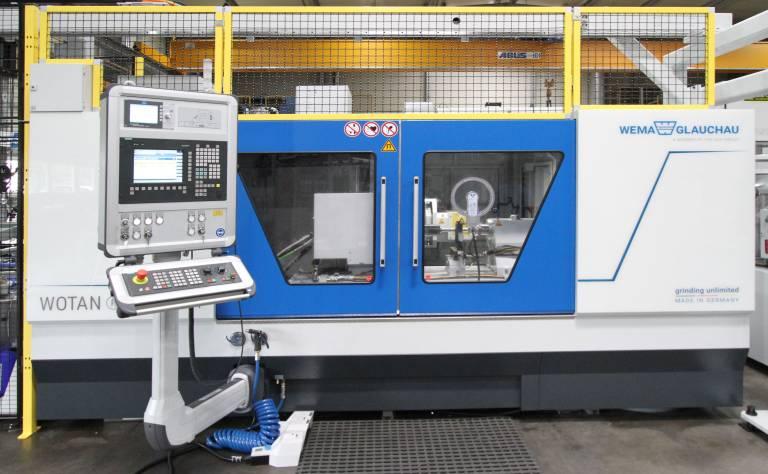 Mit der Baureihe WOTAN® S3A vervollständigt die Wema Glauchau ihr Angebot für die Realisierung aller Schleifaufgaben durch eine kompakte Außenrundschleifmaschine.