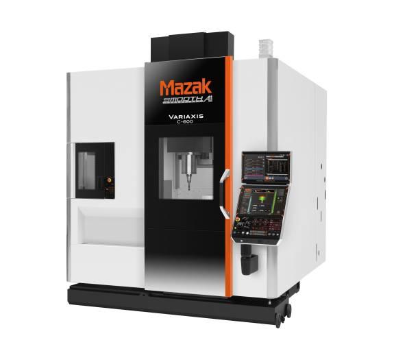 Leistungsstarke 5-Achs-Lösung mit universeller Einsetzbarkeit: Werkzeugmaschinen wie die neue VARIAXIS C-600 von Mazak können nun sehr einfach finanziert werden.