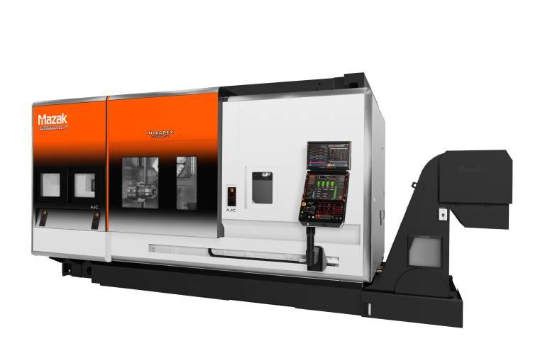 Die neue INTEGREX i-450H ST von Mazak – dies ist nur eine von einer ganzen Reihe an Multi-Funktions-Maschinen, die mit ihren verbesserten Funktionen dem Trend hin zu immer stärkerer Automatisierung Rechnung tragen.