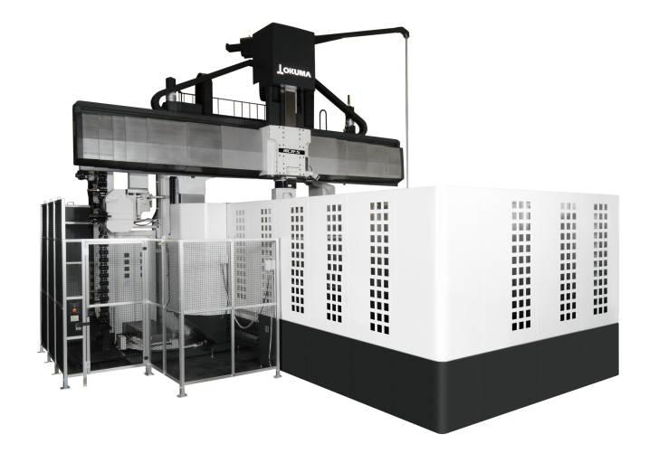 Mit einer Tischgröße von bis zu 2.500 x 6.500 mm eignet sich die Portalfräsmaschine MCR-S unter anderem für die Herstellung von Presswerkzeugen, die in der Automobilindustrie zur Karosserieproduktion eingesetzt werden.
