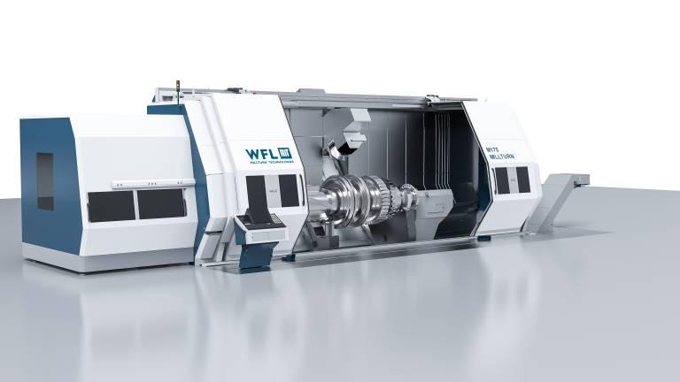 Die M175 MILLTURN – das neue Dreh-Bohr-Fräszentrum von WFL für die Komplettbearbeitung komplexer und hochgenauer Werkstücke.