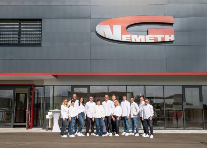 Modern, technikorientiert und mit Blick in die Zukunft – so präsentiert sich die Georg Nemeth Werkzeugmaschinen GmbH an ihrem neuen Unternehmenssitz in Oberwaltersdorf.