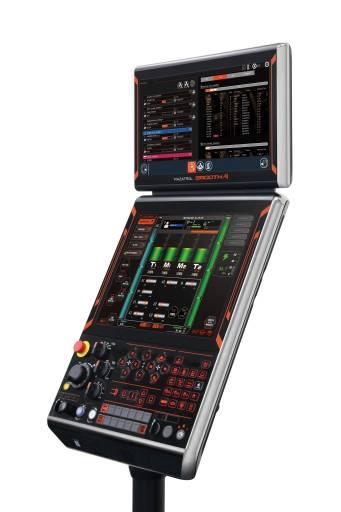 Mazaks neue Steuerung erlebte auf der EMO 2019 ihre Europa-Premiere. Die KI-Fähigkeiten der SmoothAi ermöglichen der Maschine das Erlernen von Informationen aus unterschiedlichsten Quellen.