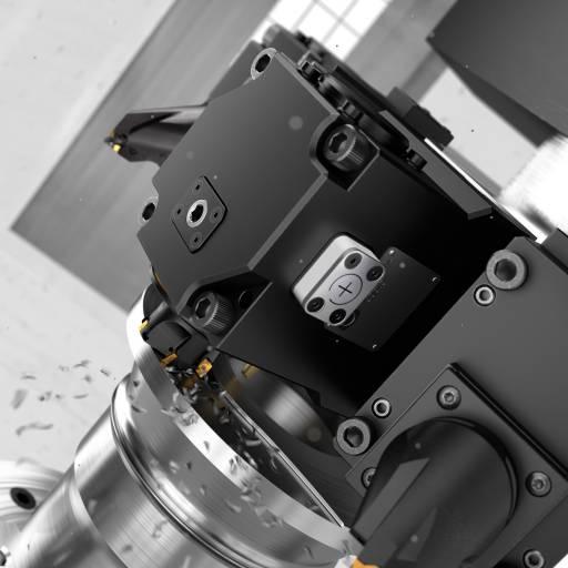 Coromant Capto® DTH Plus angetriebene Werkzeughalter reduzieren Maschinenstillstandszeiten mittels vorausschauender Instandhaltung.