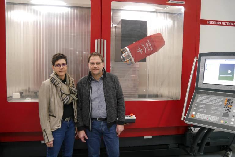 Frau Müller und Herr Förster produzieren anspruchsvolle und qualitativ hochwertige Produkte. Dafür setzen Sie auf Bearbeitungszentren von Hedelius.
