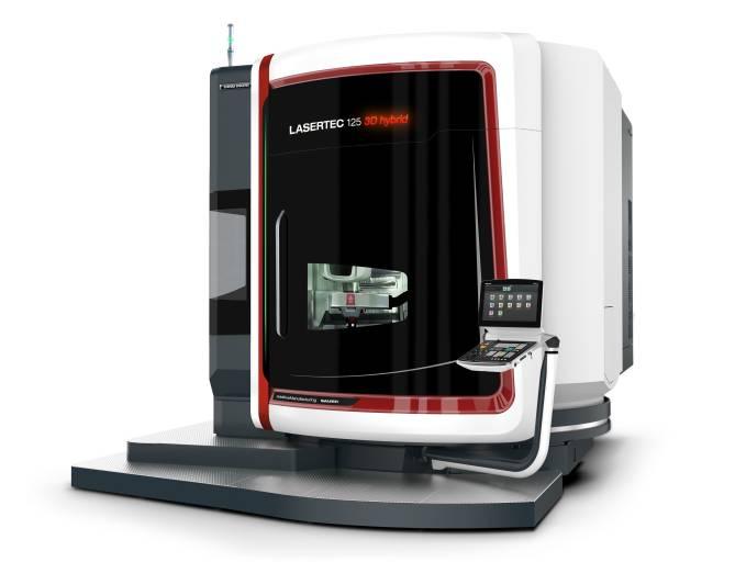 Im Bereich des 5-Achs-Laserauftragsschweißens präsentierte DMG MORI zur formnext die neue LASERTEC 125 3D hybrid für Werkstücke bis ø 1.250 x 745 mm und 2.000 kg.