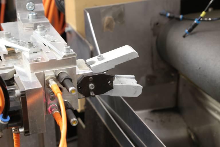 Greiferkomponenten für den praktischen Einsatz. Additive Herstellung ermöglicht kürzeste Durchlaufzeiten.