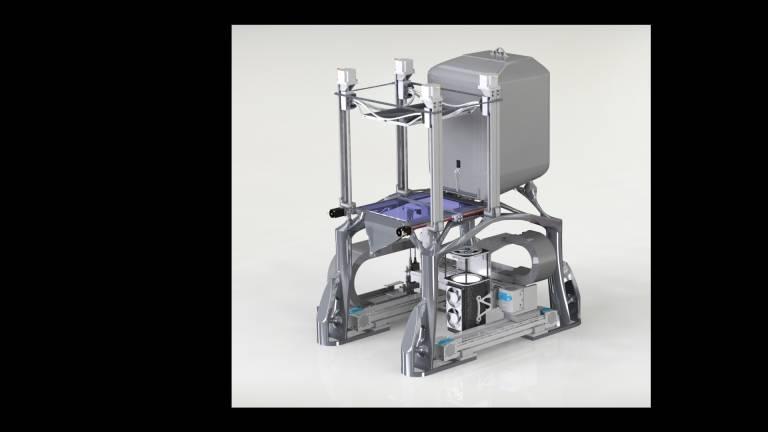 SLEDM-Prototyp für die Medizintechik.