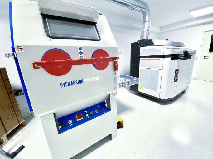 Im Techsoft-Labor finden Kunden die gesamte Prozesskette kompakt an einem Platz.