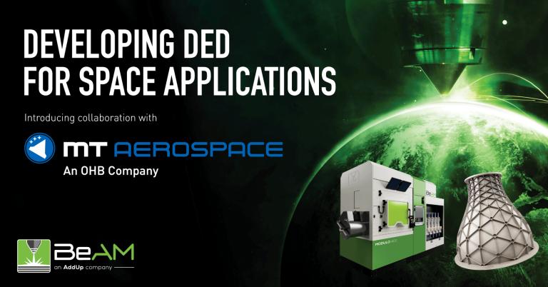 Beim Aufbau des Geschäftsfelds Additive Manufacturing setzt die MT Aerospace AG auf eine Maschine von BeAM.