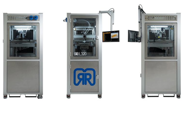 LAM 3D-Drucker LiQ 320 von InnovatiQ. © InnovatiQ GmbH + Co KG (vormals German RepRap GmbH)