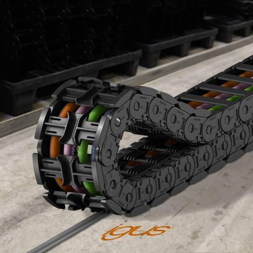 autoglide 5: Für eine sichere, schnell montierte und kostengünstige Energieführung auf langen Wegen.