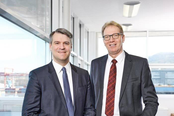 V.l.: Dr. Björn Fellner und Ing. Wilhelm Eibner sind die neuen Geschäftsführer der Hainzl Industriesysteme GmbH.