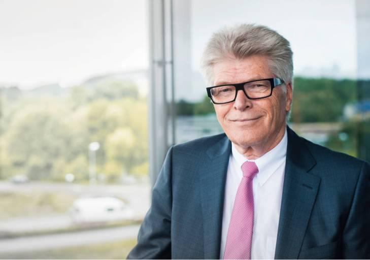 Prof. Friedhelm Loh, Inhaber und Vorstandsvorsitzender der Friedhelm Loh Group