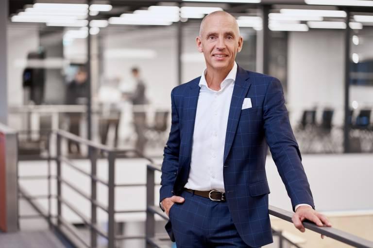 Steffen Winkler, Vertriebsleitung Business Unit Automation & Electrification Solutions bei der Bosch Rexroth AG.