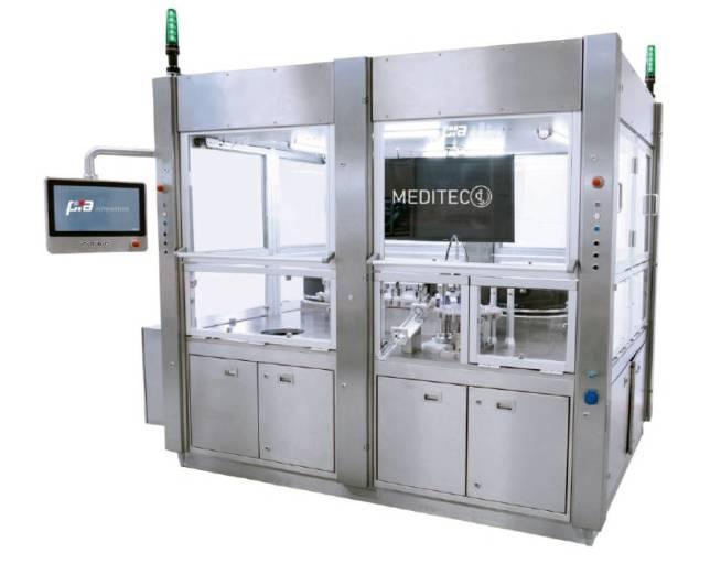 Das Prozessmodul meditec von PIA nutzt ein Werkstücktransportsystem mit SuperTrak und eignet sich damit für die flexible Montage komplexer Medizintechnikprodukte in hoher Stückzahl im und außerhalb vom Reinraum.