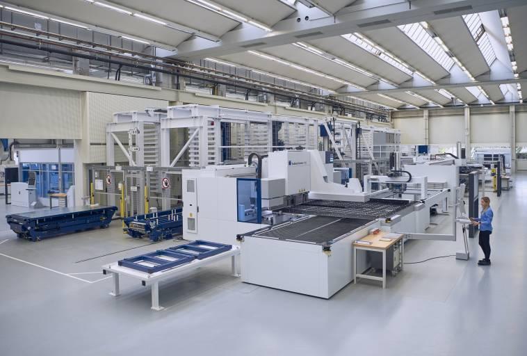 Trumpf hat an seinem Stammsitz in Ditzingen nun die dritte Smart Factory neu eröffnet.