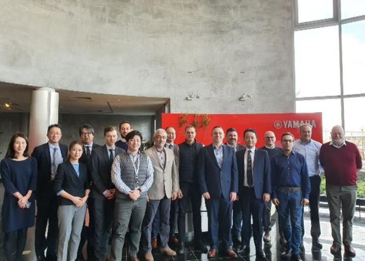 Die Yamaha FA-Section und ihre bestellten Werksvertretungen stärken weiterhin das Geschäft in Europa