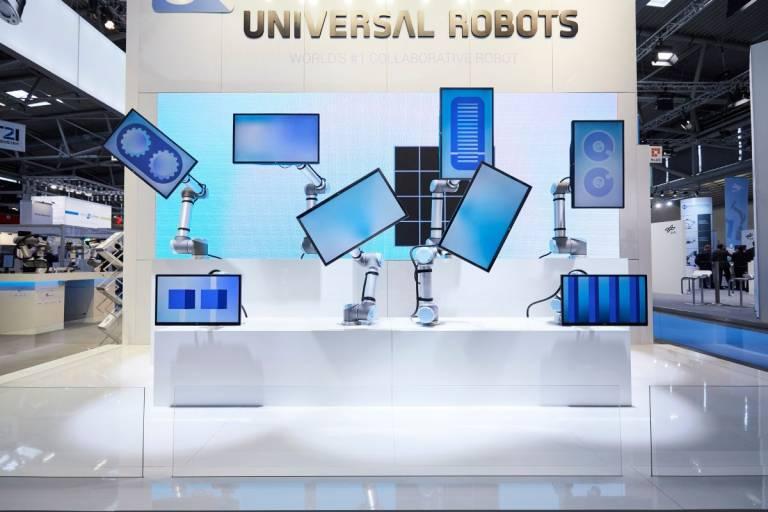 Die automatica 2020 findet im Dezember statt. Bildquelle: Messe München