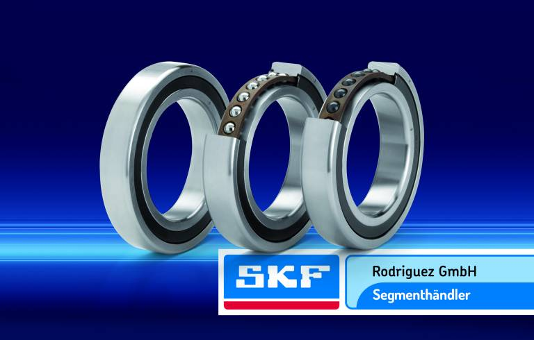 SKF hat ihr aus etwa 17.000 Partnerunternehmen weltweit bestehendes Händlernetz um ein neues Mitglied erweitert: Die Rodriguez GmbH vertreibt jetzt auch Hochgenauigkeitslager von SKF. Bild: SKF GmbH