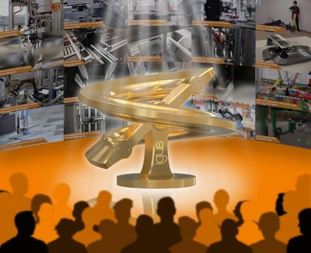 Beim ROIBOT Publikumsaward 2020 haben erstmalig Interessierte die Chance aus mehr als 70 Einreichungen für ihren persönlichen Favoriten im Bereich der Low Cost Automation abzustimmen. (Quelle: igus GmbH)