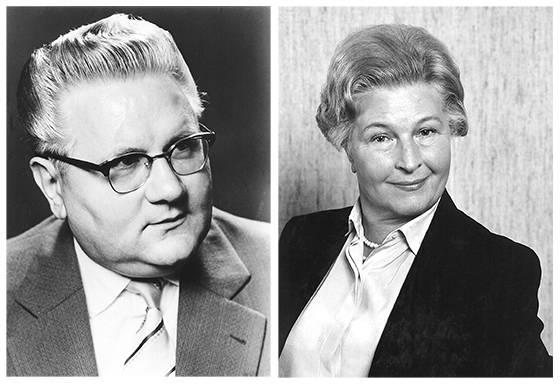 Wilhelm Harting und seine Ehefrau Marie Harting legten den  Grundstein für den Erfolg des Unternehmens.