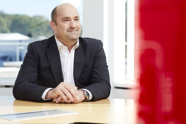 """""""Wir wollen die Beziehung zu unseren Kunden weiter intensivieren, denn in Zeiten der digitalen und zugleich industriellen Transformation ist ein enger Austausch die Basis des Erfolgs für beide Seiten"""", erklärt Sebastian Seitz, CEO von Eplan.  Quelle: Eplan Software & Service GmbH & Co. KG"""