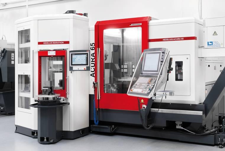 Die Palettenautomation HEDELIUS MARATHON ist eine von vier Automationslösungen, die während der Hausausstellung vorgestellt werden.