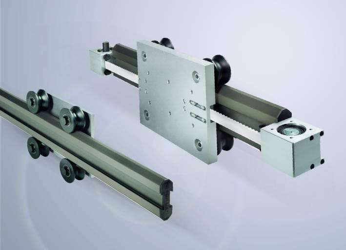 Dynamisch, robust und belastbar: Die Rollon Speedy Rail ist als Linearführung sowie als Linearachse erhältlich Bild: Rollon GmbH