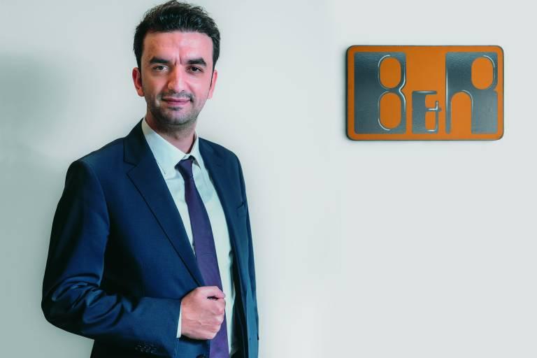Im September hat Ömer Yücel die Geschäftsführung von B&R Türkei übernommen.