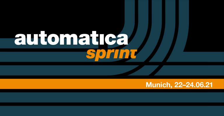 automatica sprint: Neues Messeformat vom 22.–24. Juni 2021 in München.