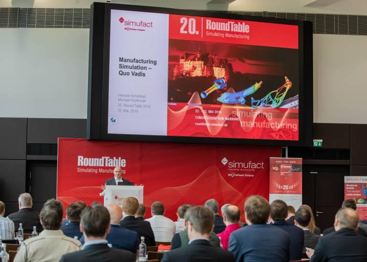 Im breit gefächerten Programm mit mehr als 20 Fachvorträgen gewähren Simufact-Anwender aus Industrie und Forschung tiefe Einblicke in die Simulationspraxis.