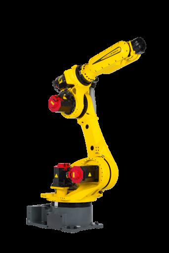 Der neue Laser-Roboter M-800iA/60 von Fanuc setzt äußerst präzise Prozessanwendungen, wie die des Laserschneidens und -schweißens linearer Bahnen und kreisförmiger Bewegungen, um.