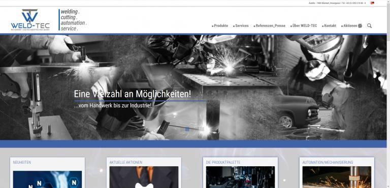Dank des responsiven Webdesigns bietet der neue Onlineauftritt stets ein ausgezeichnetes Nutzungserlebnis.