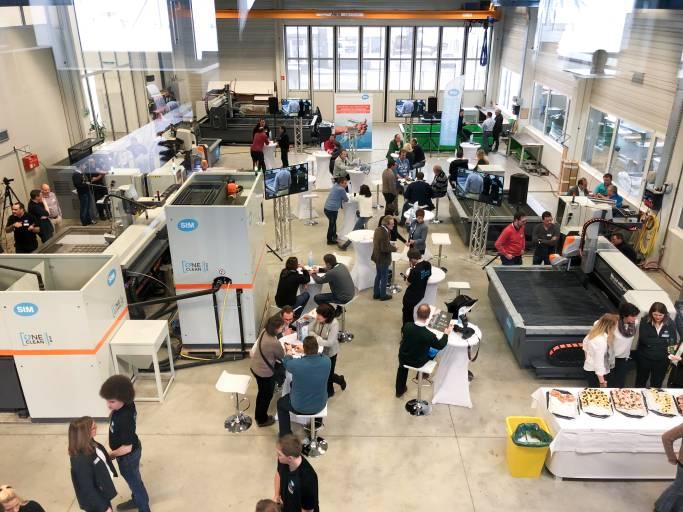 """Die """"STM Tech Week 20"""" findet im Oktober 2020 im Testzentrum von STM statt. (Bild: STM waterjet)"""
