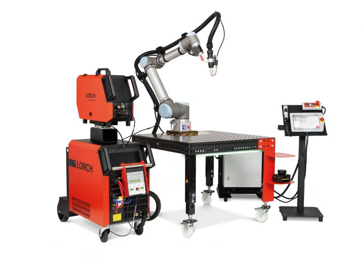 Mit der neuen WIG-Edition des Lorch Cobot Welding Package schweißen Unternehmen jeder Größenordnung qualitativ hochwertige und spritzerfreie Schweißnähte automatisiert schnell und sicher.