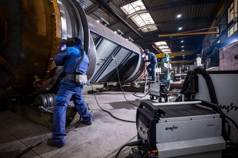Bei der Gebrüder Stahl GmbH hat das WIG-Schweißen in großen Teilen das konventionelle MAG-Handschweißen abgelöst.