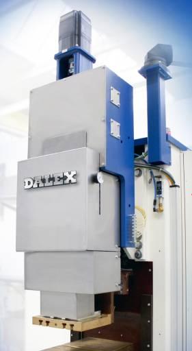 Der elektropneumatische Schweißantrieb von Dalex sorgt dank eines hervorragenden Nachsetzverhaltens für ausgezeichnete Schweißqualität. (Bilder: Dalex)