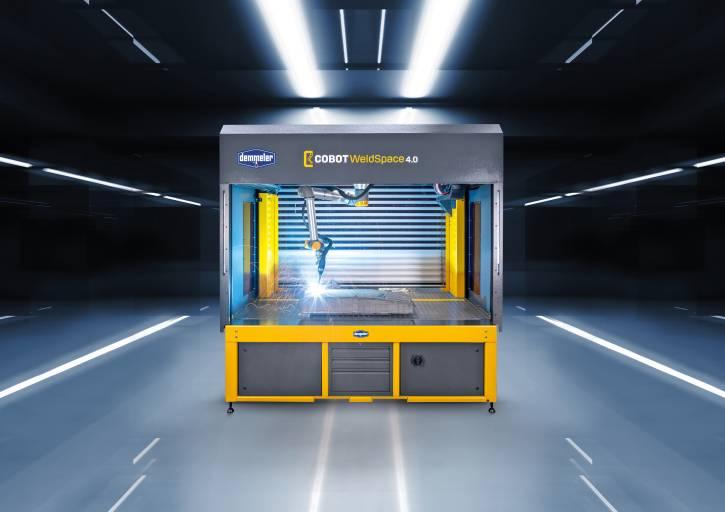 Mit der Cobot WeldSpace 4.0 von Demmeler können nicht nur Serien, sondern auch sehr kleine Stückzahlen sowie Einzelstücke wirtschaftlich produziert werden.
