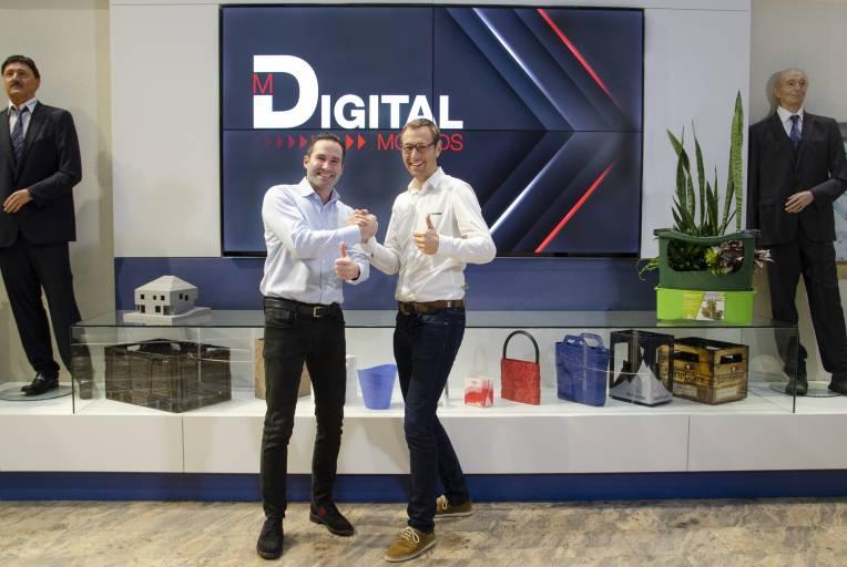 Mario Haidlmair und Stefan Hofmann freuen sich über ihr Joint Venture und sehen eine große Zukunft für die Digital Moulds GmbH.