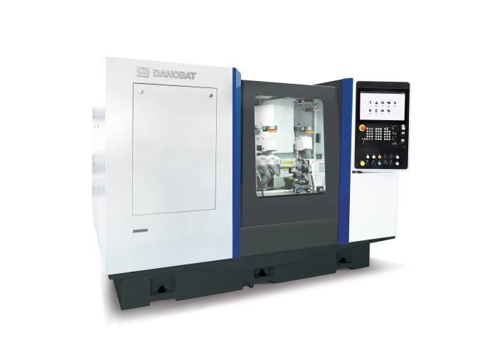 Die Danobat CG-1000 Außenschleifmaschine verfügt über ein breites Schleifscheiben-Spektrum und kann für eine Vielzahl unterschiedlicher Anwendungen eingesetzt werden.