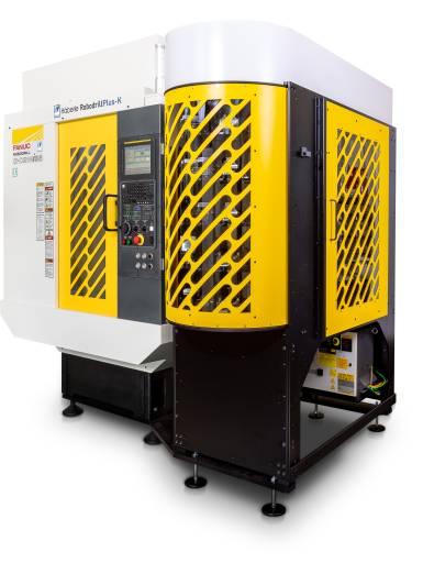 Basis des Bearbeitungszentrums Robodrill Plus-K ist eine fünfachsige Robodrill von Fanuc. Clou an der Maschine ist der modulare Aufbau. (Bilder: CNC Häberle)
