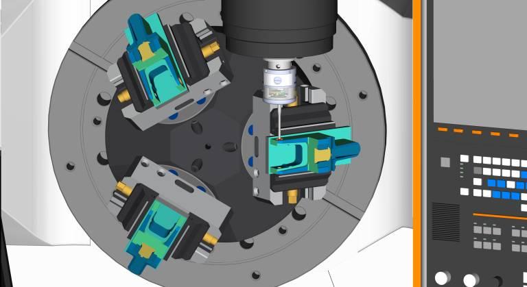 Der Digitale ESPRIT Zwilling kann nun auch innerhalb der Mazak Smooth Ai CNC-Steuerung verwendet werden.