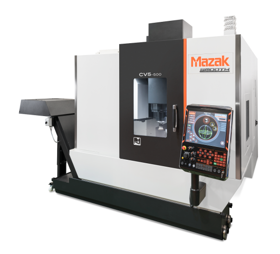 Das Highlight im Maschinenpark bei der Ploberger Modelltechnik stellt das neue 5-Achs-Bearbeitungszentrum CV5-500 von Mazak dar. Entwickelt als Einstiegsmodell, bringt sie für den oberösterreichischen RC-Motorenhersteller alles mit, um die komplexen Bauteile wirtschaftlich herstellen zu können.